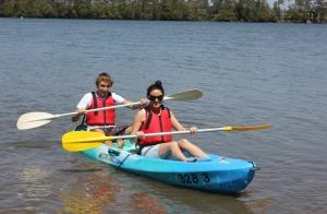 Alquiler de kayak para dos