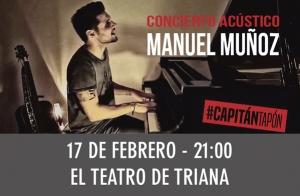 Manuel Muñoz. Concierto acústico
