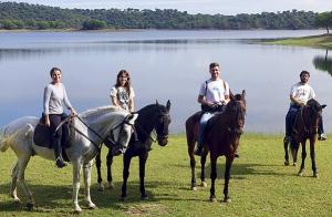 Paseo a caballo por la Ruta del Agua
