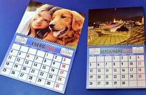 Calendario personalizado para el 2016